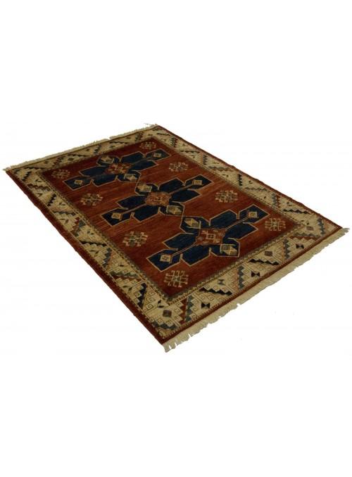 Teppich Chobi Ziegler 168x124 cm - Afghanistan - Hochlandschurwolle