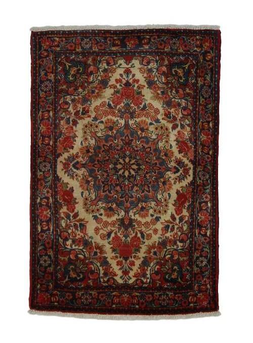 Orient Teppich Handgeknüpft Iran Malayer 70x100cm 100% wolle