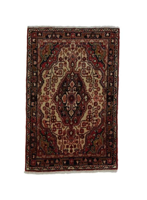 Orient Teppich Handgeknüpft Iran Malayer 75x105cm 100% wolle
