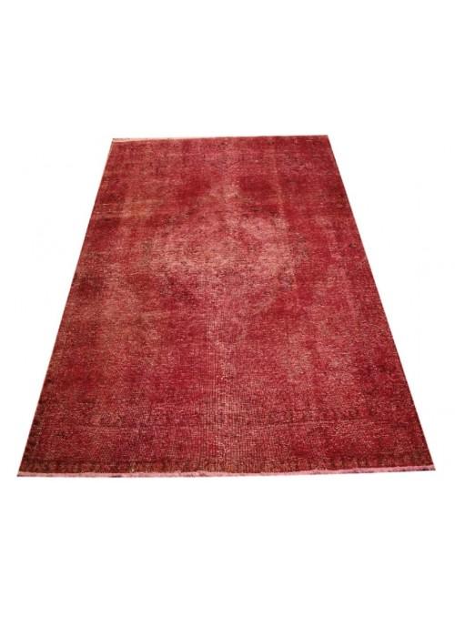 Ręcznie tkany dywan Tabriz Iran 100% 200x300cm czerwony colored vintage