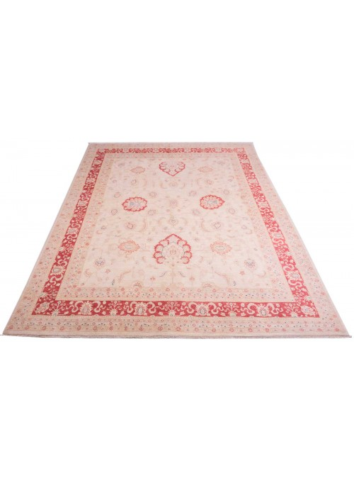 Teppich Chobi Beige 250x340 cm Afghanistan - 100% Hochlandschurwolle