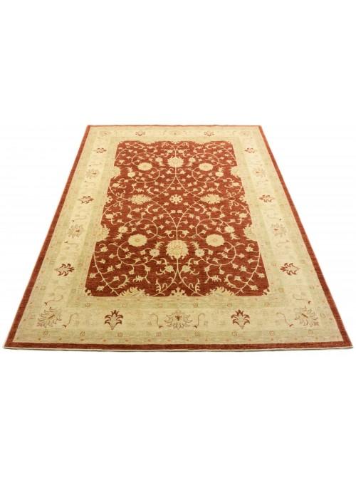 Teppich Chobi Rot 250x360 cm Afghanistan - 100% Hochlandschurwolle
