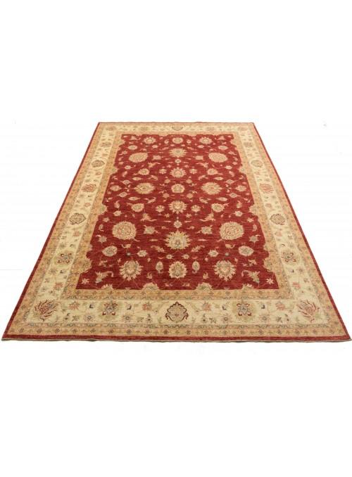 Teppich Chobi Rot 250x370 cm Afghanistan - 100% Hochlandschurwolle