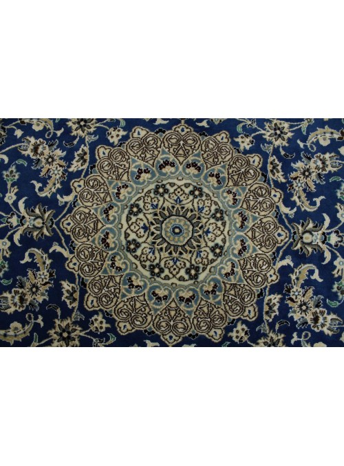 Ręcznie tkany dywan Nain 9la Iran 100% wełna ok 170x240cm niebieski