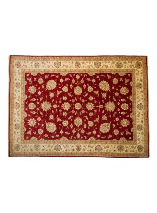 Teppich Chobi Rot 260x350 cm Afghanistan - 100% Hochlandschurwolle