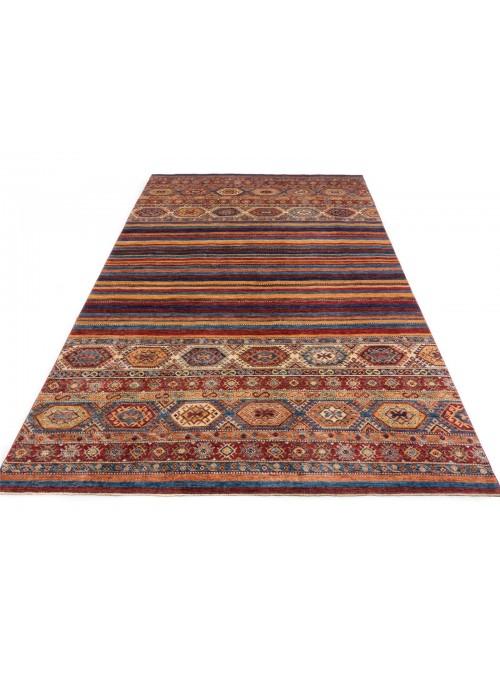 Teppich Ziegler Khorjin Mehrfarbig 210x320 cm Afghanistan - 100% Hochlandschurwolle