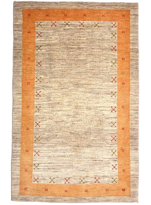 Orientteppich Handgeknüpft Iran Loribaft ca 140x200cm perser Gabbeh 100% Wolle