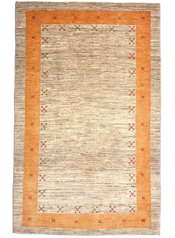 Ręcznie tkany dywan Loribaft Gabbeh Iran 100% wełna ok 140x200cm