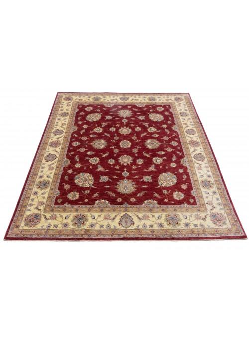 Teppich Chobi Rot 260x300 cm Afghanistan - 100% Hochlandschurwolle