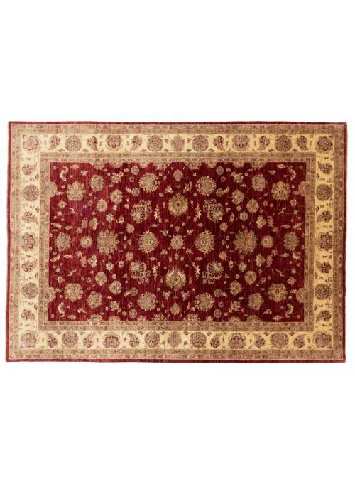 Teppich Chobi Rot 240x340 cm Afghanistan - 100% Hochlandschurwolle