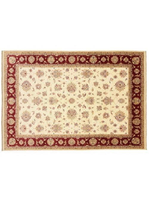 Carpet Chobi Beige 260x360 cm Afghanistan - 100% Highland wool