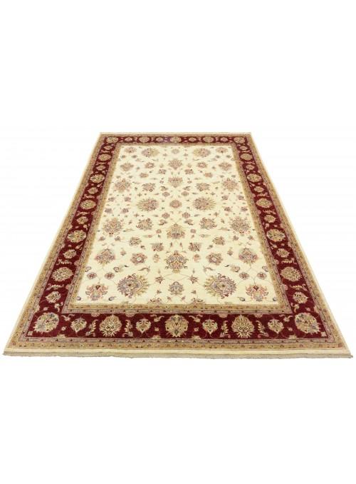 Teppich Chobi Beige 260x360 cm Afghanistan - 100% Hochlandschurwolle