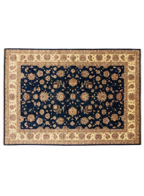 Teppich Chobi Blau 250x350 cm Afghanistan - 100% Hochlandschurwolle