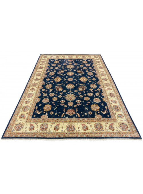 Carpet Chobi Blue 250x350 cm Afghanistan - 100% Highland wool