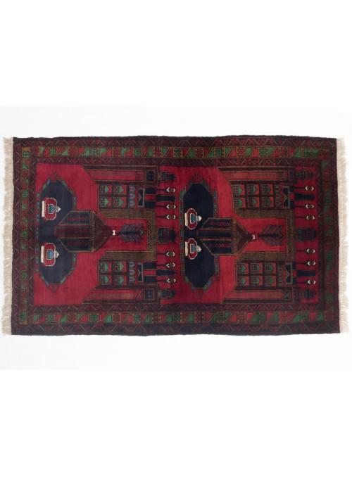 Carpet Beloutsch Red 110x190 cm Afghanistan - 100% Wool