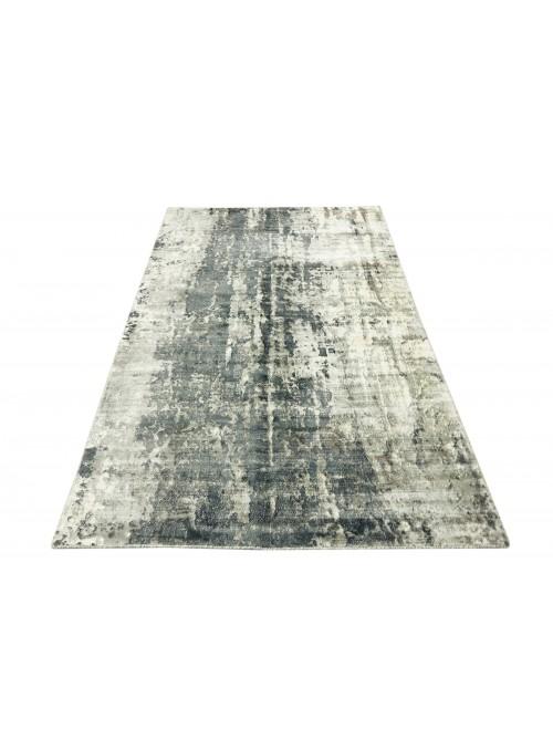 Carpet Handloom Print Grey 160x230 cm India - 100% Viscose