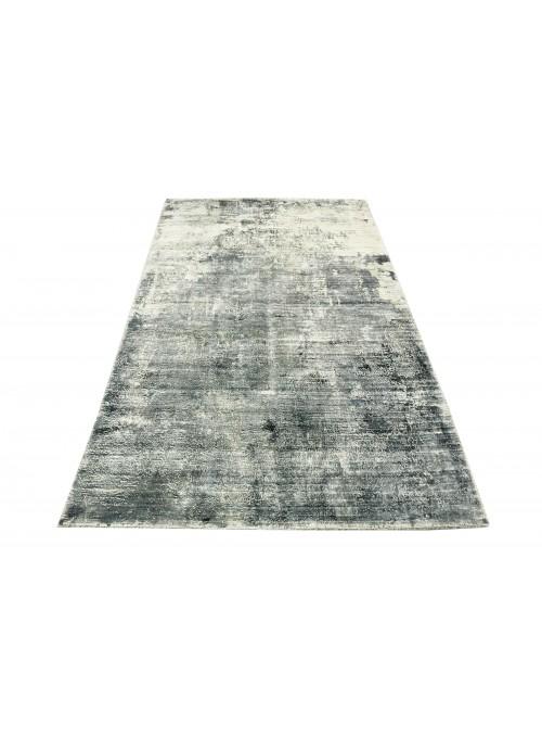 Carpet Handloom Print Grey 160x200 cm India - 100% Viscose