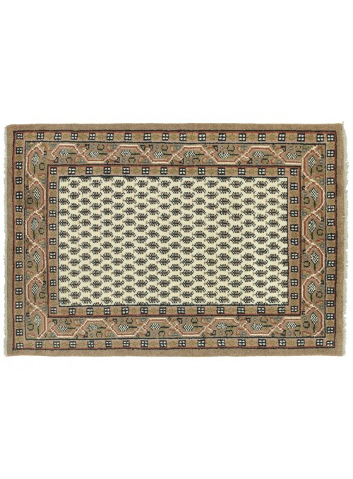 Carpet Mir Beige 120x180 cm India - 100% Wool