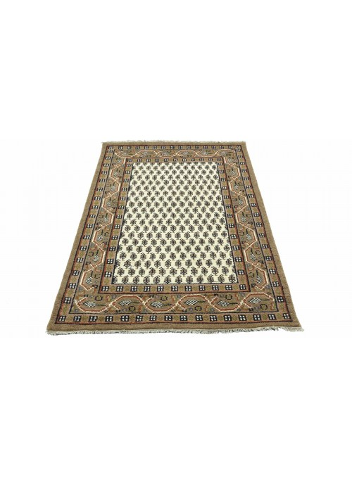 Dywan Mir Beżowy 120x180 cm Indie - 100% Wełna owcza