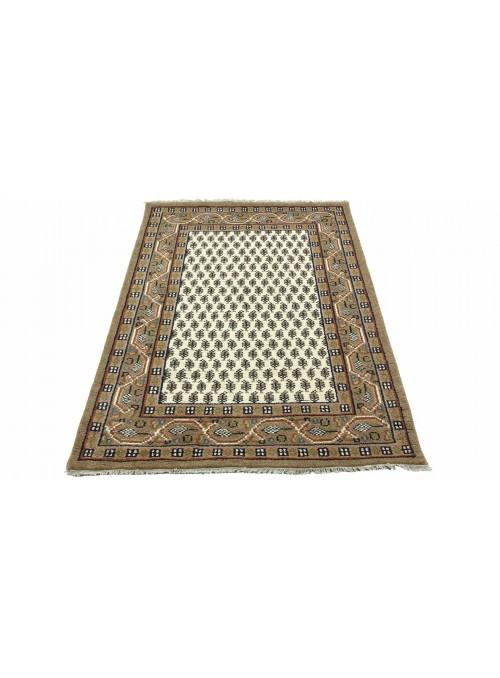 Teppich Mir Beige 120x180 cm Indien - 100% Schurwolle