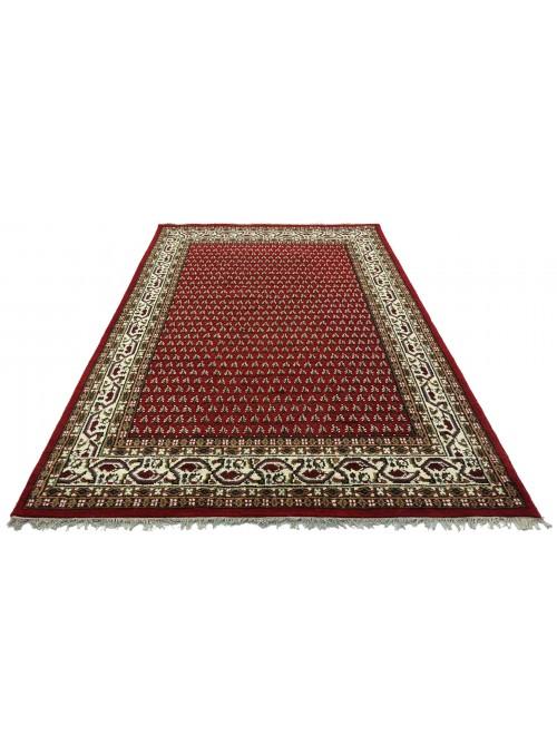 Teppich Mir Rot 170x240 cm Indien - 100% Schurwolle