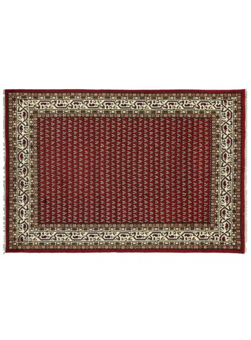 Dywan Mir Czerwony 200x300 cm Indie - 100% Wełna owcza