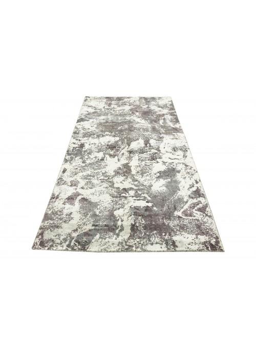 Teppich Handloom Print Lila 150x240 cm Indien - 100% Viskose
