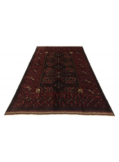 Carpet Beloutsch Black 210x270 cm Afghanistan - 100% Wool
