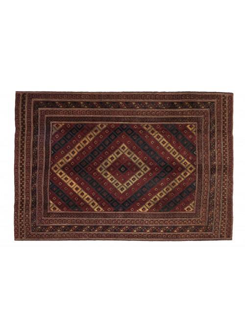 Carpet Gol Barjasta Sumakh Red 220x270 cm Afghanistan - 100% Wool