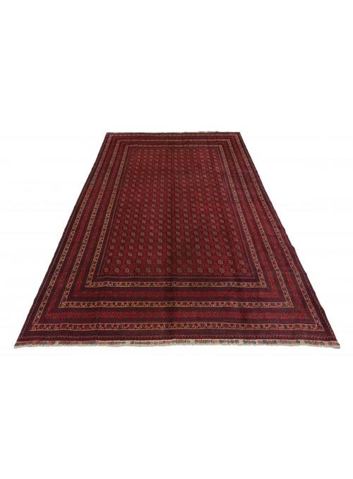 Teppich Mauri Rot 200x290 cm Afghanistan - 100% Schurwolle