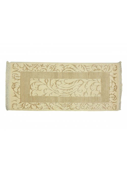 Dywan Asman Biały 80x150 cm Indie - 95% Wełna, 5% akryl