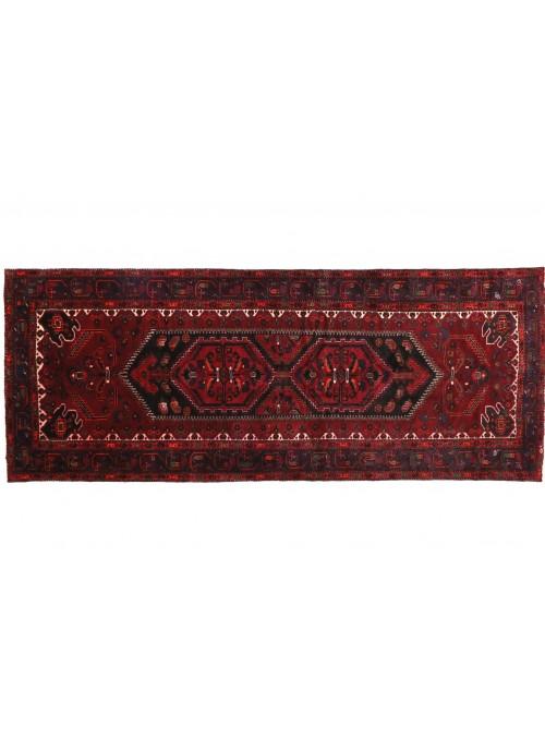 Teppich Hamadan Rot 140x330 cm Iran - 100% Schurwolle