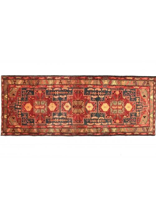 Teppich Hamadan Rot 120x320 cm Iran - 100% Schurwolle