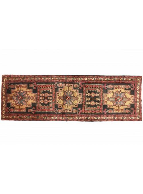 Dywan Hamadan Wielokolorowy 120x330 cm Iran - 100% Wełna owcza