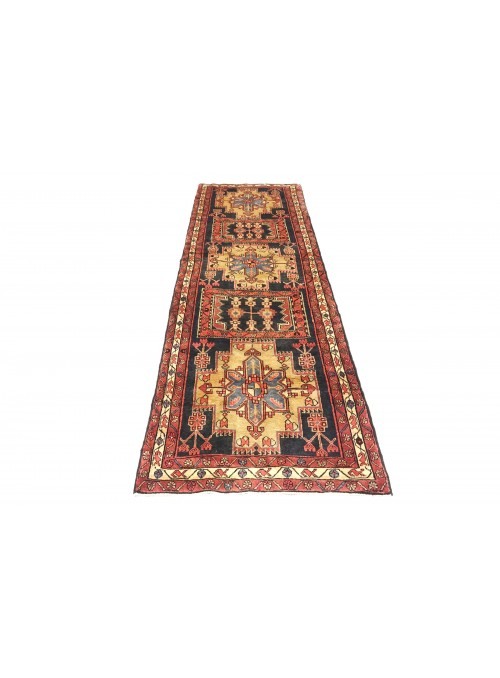 Teppich Hamadan Mehrfarbig 120x330 cm Iran - 100% Schurwolle