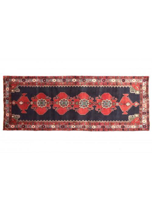 Teppich Hamadan Rot 110x300 cm Iran - 100% Schurwolle