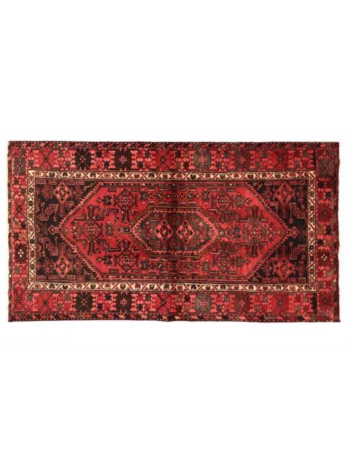 Teppich Hamadan Rot 130x200 cm Iran - 100% Schurwolle