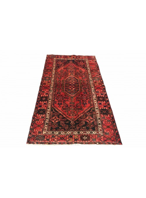 Carpet Hamadan Red 130x200 cm Iran - 100% Wool