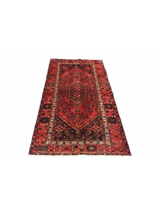 Dywan Hamadan Czerwony 130x200 cm Iran - 100% Wełna owcza