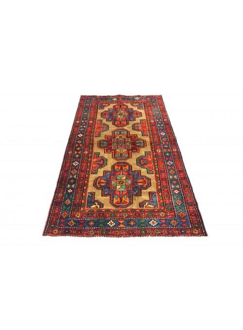 Dywan Hamadan Czerwony 130x210 cm Iran - 100% Wełna owcza