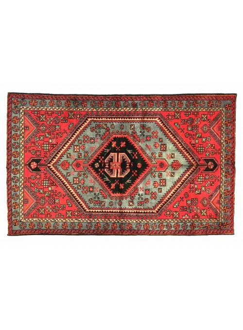 Teppich Hamadan Rot 140x190 cm Iran - 100% Schurwolle