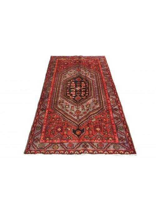 Teppich Hamadan Rot 130x210 cm Iran - 100% Schurwolle