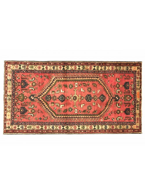 Dywan Hamadan Czerwony 120x210 cm Iran - 100% Wełna owcza