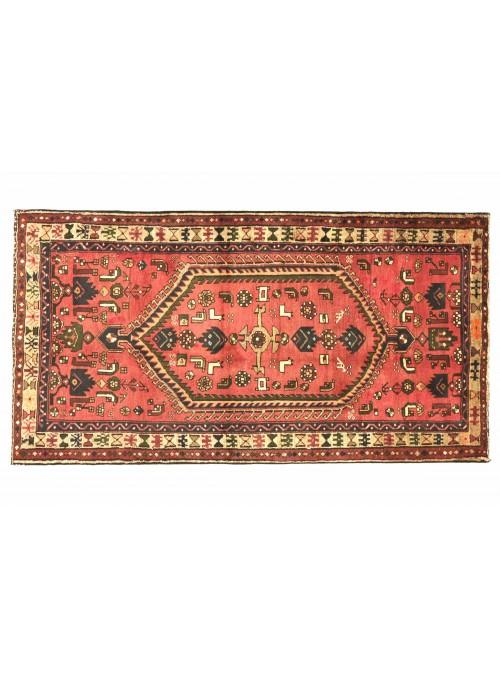 Teppich Hamadan Rot 120x210 cm Iran - 100% Schurwolle