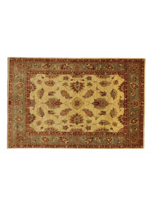 Teppich Chobi Beige 180x230 cm Afghanistan - 100% Hochlandschurwolle