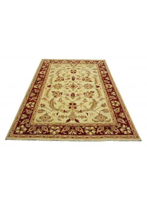 Teppich Chobi Beige 200x240 cm Afghanistan - 100% Hochlandschurwolle