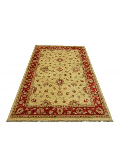Teppich Chobi Beige 170x240 cm Afghanistan - 100% Hochlandschurwolle