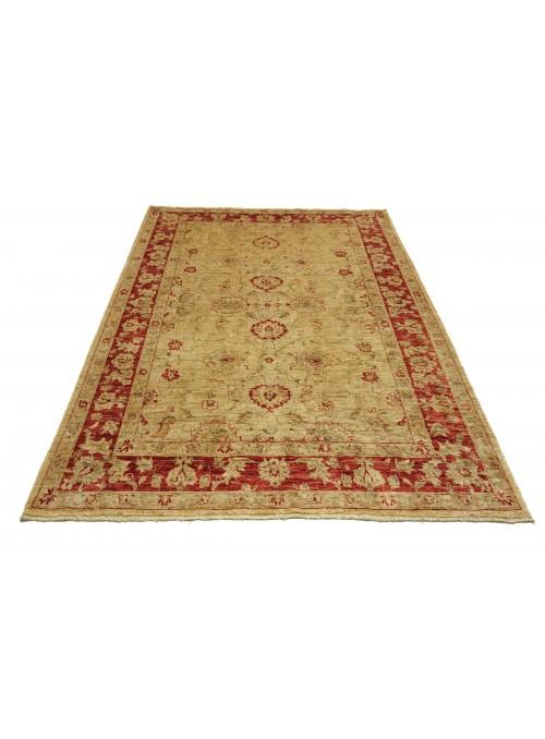 Teppich Chobi Beige 190x250 cm Afghanistan - 100% Hochlandschurwolle