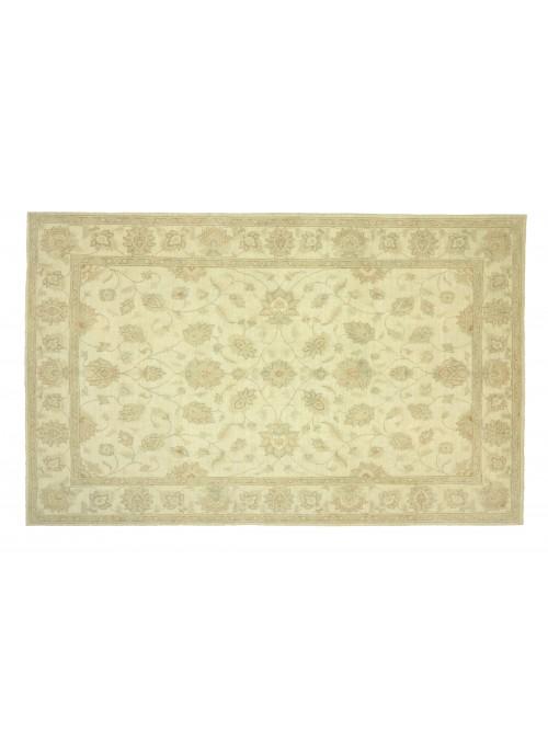 Teppich Chobi Beige 210x290 cm Afghanistan - 100% Hochlandschurwolle