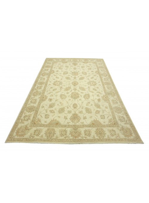 Carpet Chobi Beige 210x290 cm Afghanistan - 100% Highland wool